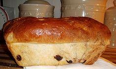 no knead cinnamon raisin bread - happy breakfast food