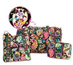 Disney Vera Bradley Collection Just ordered the hipster..can't wait!