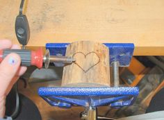 Wood Burned Heart Tree Candle Holders | Just Imagine - Daily Dose of Creativity