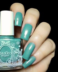 Fashion Polish: Takko Lacquer first Fall colors : Physical Graffiti and Jabberwocky!