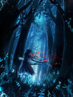 Blue Forest by YuruiKarameru.deviantart.com on @DeviantArt