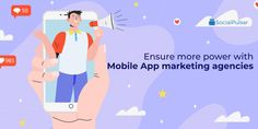 Your best mobile app marketing agencies in USA can come in as a great force when you look to promote your mobile application effectively. Read through to know-how. App Marketing, Social Media Marketing, Best Digital Marketing Company, Best Mobile, Seo Company, Seo Services, Mobile Application, How To Plan, Usa