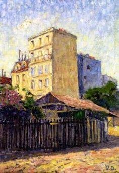 House In Montmartre Artwork by Kees Van Dongen