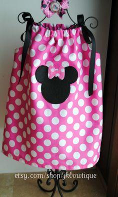 Pink Minnie Mouse Pillowcase Dress by AllissonsCreations on Etsy $26.00   Kids   Pinterest & Pink Minnie Mouse Pillowcase Dress by AllissonsCreations on Etsy ... pillowsntoast.com