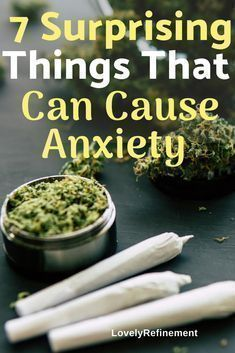 Are you aware of these 7 things that could be making your anxiety worse? Learn about the 7 surprising things that cause anxiety Deal With Anxiety, Anxiety Tips, Anxiety Help, Stress And Anxiety, Anxiety Humor, Foods That Cause Anxiety, Foods For Anxiety, Anxiety Panic Attacks, Health