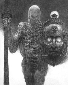 Zdzisław Beksiński. Rysunki-obrazy. Lata 70-te
