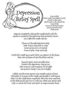 .Anti Depression Spell