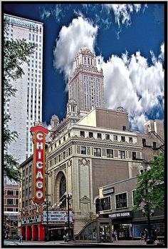 The Legendary Chicago Theatre!....a landmark theater located on North State Street in the Loop area of Chicago, IL, USA. Built in 1921