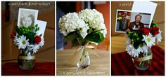 a {day} with lil mama stuart: 90th Birthday Party: Photo Themed Decorations
