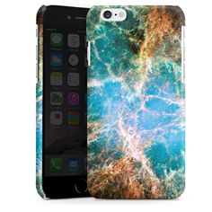 Crab Nebula für Premium Case (glänzend) für Apple iPhone 6 von DeinDesign™