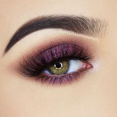 Purple Smokey Eye for Green Eyes picture 4
