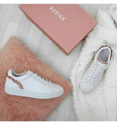 Puma Basket Classic frill leather trainers (€64) ❤ liked on