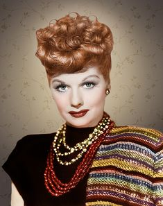 Lucille Ball The beautiful red head! Great photo