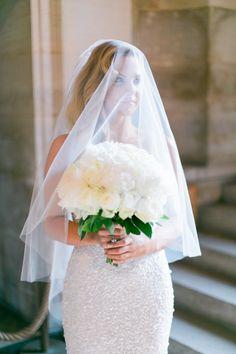 Incredibly stunning bride: http://www.stylemepretty.com/destination-weddings/2014/11/03/intimate-elopement-in-paris/ | Photography: Le Secret D'Audrey - http://www.lesecretdaudrey.com/