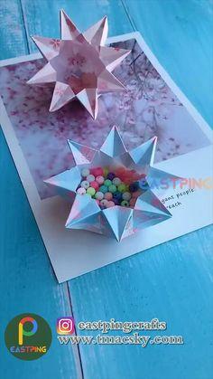 Cool Paper Crafts, Paper Crafts Origami, Fun Crafts, Crafts For Kids, Decor Crafts, Diy Paper, Diy Crafts Hacks, Diy Crafts For Gifts, Diy Arts And Crafts