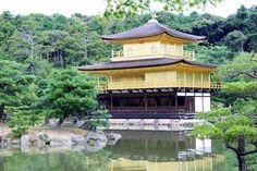 Kinkaku-ji Kyoto Japan  Golden Pavilion photo taken by Yvette Kanatake
