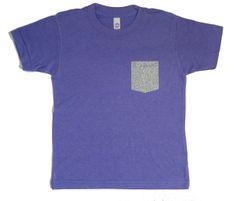 T-shirt poche argentée http://www.ratatamkids.com