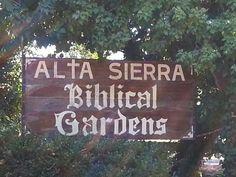 Biblical Gardens in Grass Valley, CA