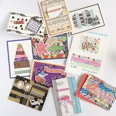 If your looking for a way to whip up a quick handmade card Washi tape is the answer#hobbyhoppers #washiideas