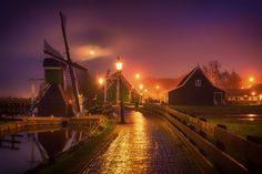 Albert Dros is a talented photographer from Netherlands who specializes in landscape photography. His stunning landscape photos are capturing the Landscape Photos, Landscape Photography, Digital Photography, Wonderful Places, Beautiful Places, Holland Windmills, Amsterdam City, Photo Series, Throughout The World
