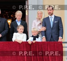 The Crown Princely Family. The King and Queen's 75th birthday celebrations.