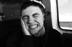 dorky smiles and a voice. [Mac Miller]