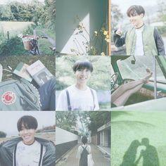 Hoseok BTS jhope moodboard aesthetic kpop