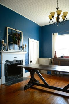 DIY Farmhouse Table...love this