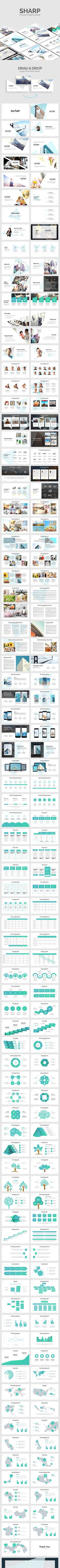 SHARP - Creative Design - PowerPoint Templates Presentation Templates