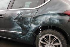 Аэрография на Citroen DS4. Фрегат. #sea #ocean #water #ships #airbrush #host #paint #style #beauty #cars #auto #машины #красиво #парусники