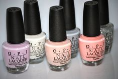 """Nail polish is VERY important. There is no faster way to look well """"put together"""" than to have freshly polished nails. And NO ONE makes better colors than OPI! I'm literally obsessed and an OPI expert! Just Girly Things, All Things Beauty, Girly Stuff, Cute Nails, Pretty Nails, Looks Chic, Opi Nails, Nail Polishes, Nail Polish Colors"""