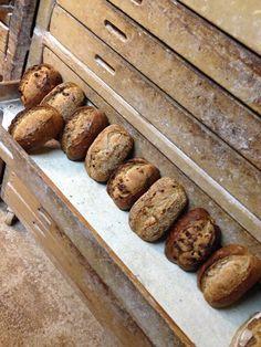 pain de campagne sur Poolish - aux noix - aux figues - aux noix, noisettes et raisins