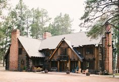 La Foret Conference and Event Center  Read More: http://www.stylemepretty.com/2014/09/03/colorado-springs-summer-camp-wedding/