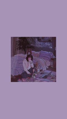 Et Wallpaper, Purple Wallpaper Iphone, Cute Anime Wallpaper, Scenery Wallpaper, Aesthetic Pastel Wallpaper, Cute Cartoon Wallpapers, Cute Wallpaper Backgrounds, Pretty Wallpapers, Animes Wallpapers