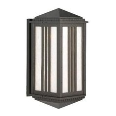 "Parisian PE4500 Series Semi Flush Wall Brackets 27"" Wall Lantern Finish: Rusty Nail by Melissa Lighting. $601.99. PE45915-RN Finish: Rusty Nail Features: -Wall lantern.-Opal glass panel.-Electronic ballast EBPL:13-26-32(four pin).-UL listed. Options: -Available in Black, White, Old Iron, Architectural Bronze, Rusty Nail, Old Bronze, Old World, Aged Silver, Patina Bronze and Old Copper finishes. Construction: -Cast aluminum construction. Specifications: -Accommodates (2..."