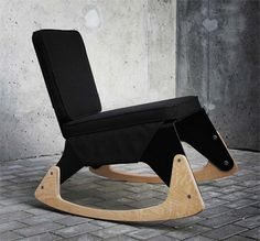 Lrg Rocking Chair Melongue Studio #chairs, #rockingchairs, #furniture, #home, https://facebook.com/apps/application.php?id=106186096099420