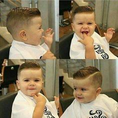 15 Super Trendy Baby Boy Haircuts Charming Your Little One's Personality 15 Super Trendy Baby Boy Haircuts for 2017 Baby boy haircut buzz Stylish Baby Boy Trendy Ideas For Baby Boy Haircuts Short, Little Boy Hairstyles, Toddler Boy Haircuts, Haircuts For Toddlers, Kids Hairstyles Boys, Haircuts For Little Boys, Trendy Boys Haircuts, Modern Haircuts, Kids Cuts