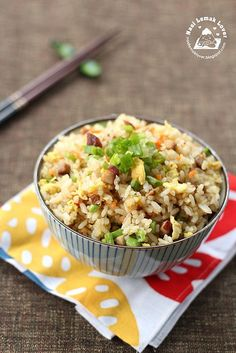 Chahan (Japanese fried rice) 日式炒飯