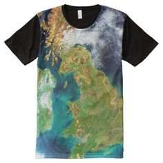GREAT BRITAIN AND NORTHERN IRELAND All-Over-Print T-Shirt