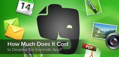 How Much Does It Cost to Develop the Evernote App  Evernote for us is not simply a note taking and organizing service, it is an interesting application with great features and design. You can stop here and try to rethink this concept, you can find a great opportunity for creating an alternative app with unique features to make it even more attractive and efficient for users. Do you have any ideas? Let us bring them to   http://erminesoft.com/how-much-does-it-cost-to-develop-the-evernote-app/