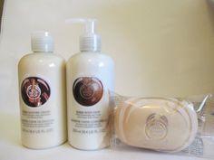 The Body Shop Shea Gift Set (Shea Body Whip Lotion, Shower Cream & Shea Soap) #SheaMoisture