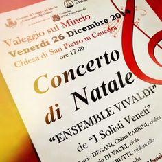 Concerto di Natale, il giorno di Santo Stefano a Valeggio sul Mincio @gardaconcierge
