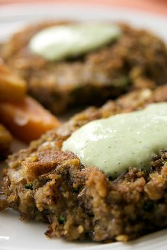 lentil & hazelnut patties recipe...