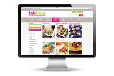 Fab Flour website design @satcreative
