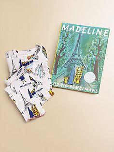 Saks.com holiday season: Books To Bed Toddler's & Little Girl's Madeline PJ & Book Set