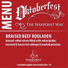 Oktoberfest...the Waypoint way!