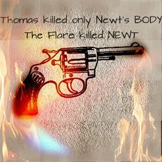 No.....How could you....Nope.....OMGOSH I CAN'T STAND IT ANY LONGER!!! I wish Newt could still be alive...