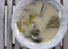 Sopa da avó Zé - sopa de batatas com acelga