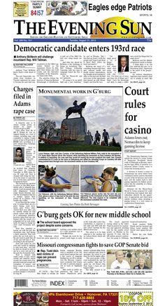 The Evening Sun, Tuesday, August 21, 2012