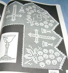 Elizabeth Hiddleson Crochet Edges 15 Many Widths Styles Altar Lace Filet Bunny | eBay